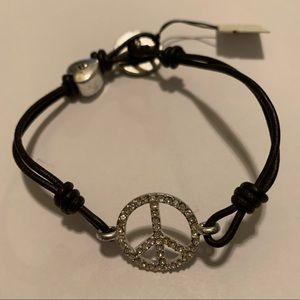 Fossil Peace Bracelet